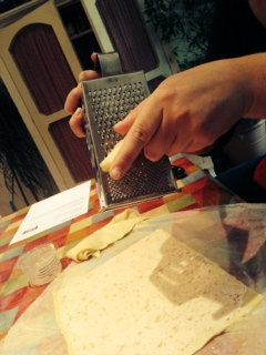 cheese grating