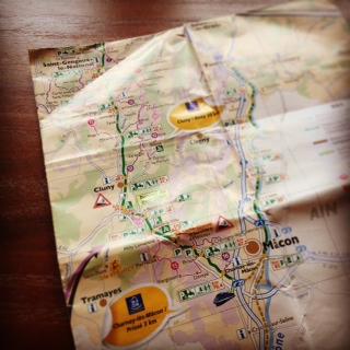 voie verte map