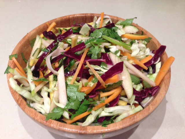 asian inspired coleslaw